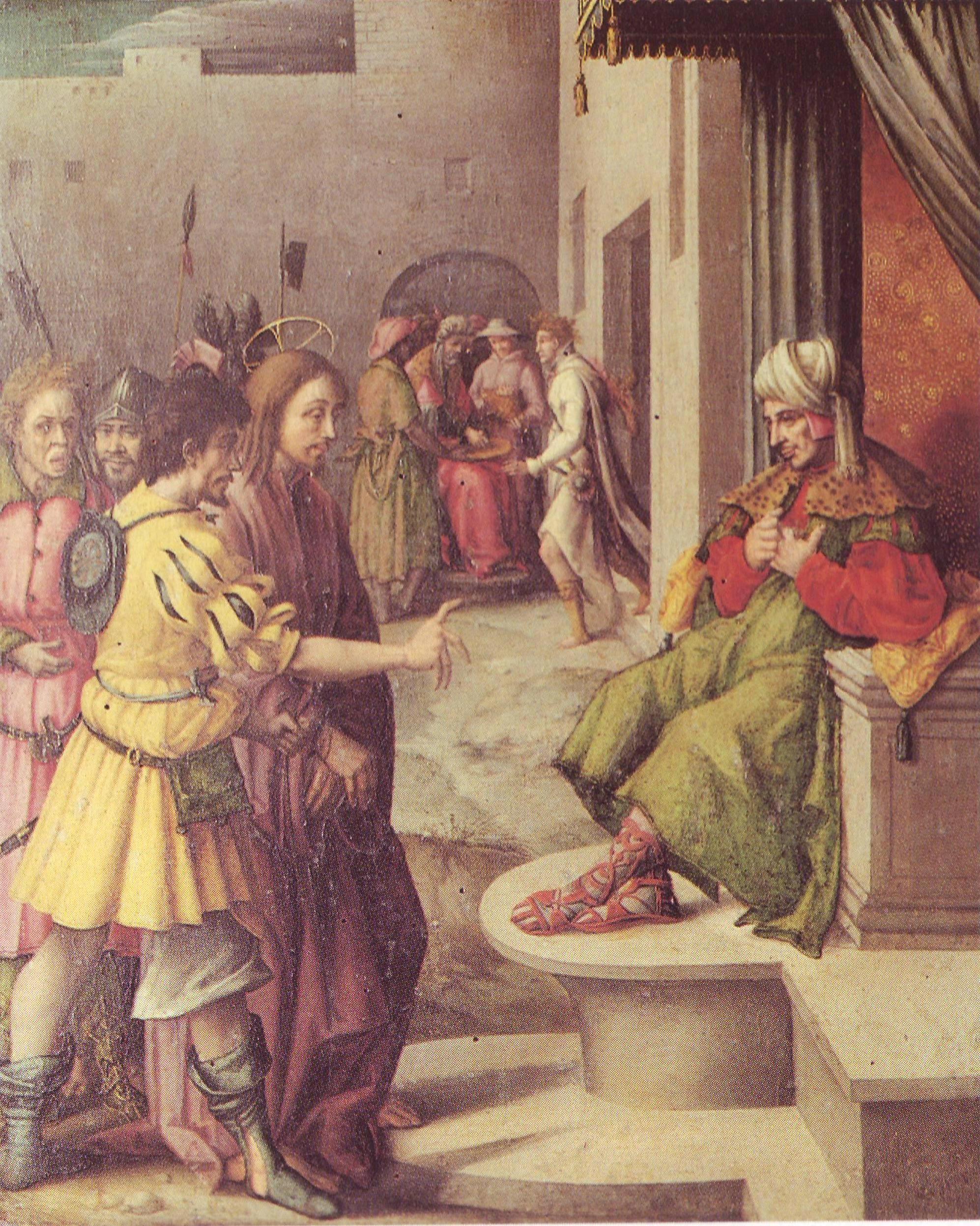 Regalati un restauro - dipinto di  Bachiacca restaurato
